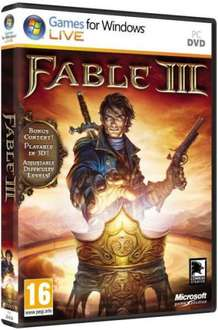 Fable 3 PC Pre-Order @ The Hut  £24.85 Delivered