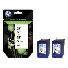 HP Original 57 2-Pack Tri-colour Ink Cartridges - £24.75 Delivered @ Amazon