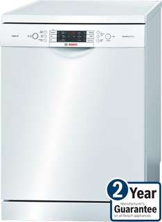 Bosch SMS65E12GB Exxcel dishwasher £439 @ electricshop + £70 cashback on a prepaid visa (£369)  + quidco + 2 year warranty