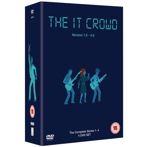 The IT Crowd: Series 1-4 Box Set (DVD) - Only £17.93 @ Amazon