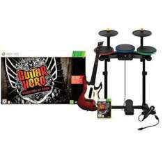 Guitar Hero 6: Warriors of Rock Full Band Bundle (Wii - £59.99) (PS3 - £60) Delivered @ Amazon