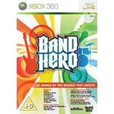 Band Hero (Solus) (Xbox 360) - £2.25 + £2.03 Postage @ Amazon Sold by The Game Collection or £3.99 direct from Game Collection