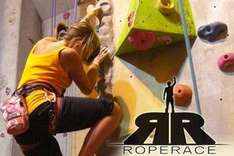 £15 for 3 Indoor Rock Climbing Sessions + Membership at Rope Race, Marple, Cheshire @ Groupon