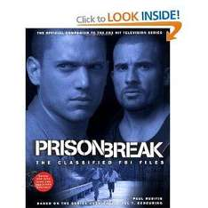 'Prison Break': The Classified FBI Files (Paperback) With Dvd - £1 @ Poundland
