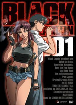 Black Lagoon Volume 1-3 Bundle (Complete 1st Series) (DVD) - (RRP £47.97) - £9.99 @ Anime-On-Line