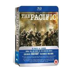 The Pacific: Collectors Tin (HBO) (Blu-ray) (6 Disc) - £23.74 (using code) @ Tesco Entertainment + 8% Quidco