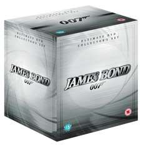 James Bond Complete Collection (22 Discs, including Quantum of Solace) [DVD]  - £34 (using code) @ Tesco Entertainment + 8% Quidco
