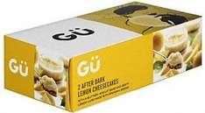 Frü Sensationally Citrusy Lemon Cheesecakes (2 x 90g), Gü Hot Chocolate Souffle (2x65g) &  Frü Intensely Tangy Key Lime Pies (2 x 85g) £1.63 at Tesco