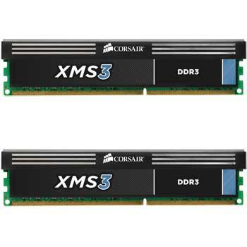 8GB (2x4GB) Corsair XMS3 DDR3 PC3-12800 (1600), Non-ECC Unbuffered, CAS 9-9-9-27, 1.65V - Only £63.59 @ Scan