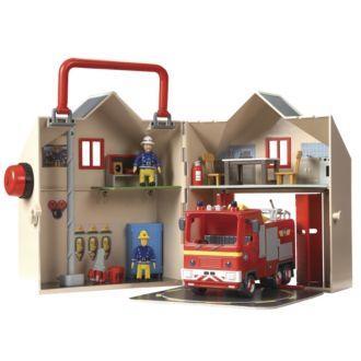 Fireman Sam Deluxe Fire Station Playset - Half Price - £14.99 @ Sainsburys