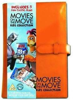 Ice Age 2, Chicken Run, Robots, Little Manhattan, Two Brothers DVD Pack - £3.99 @ Readers Digest