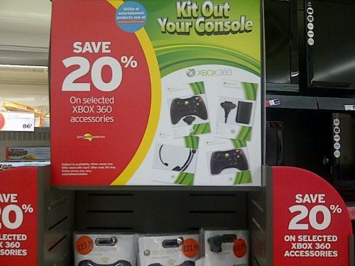 20% off Xbox Accessories @ Sainsburys