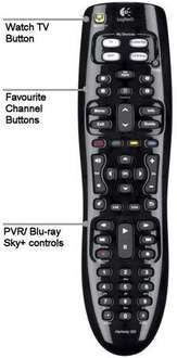 Logitech Harmony 300i  Universal Remote - £25.99 Delivered @ Amazon Sold by Office Etc