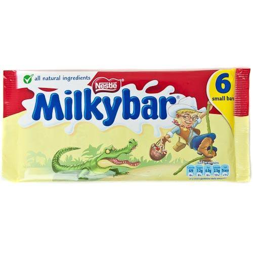 6 Milkybar Small Bars £1 @ poundland