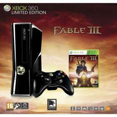 Xbox 360 Slim Console: 250GB + Fable 3 + 12 Months Xbox Live Gold - Only £174.99 @ Amazon