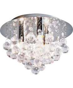 Joy Flush Droplets Ceiling Light - £19.99, was £49.99, Less than Half Price @ Argos