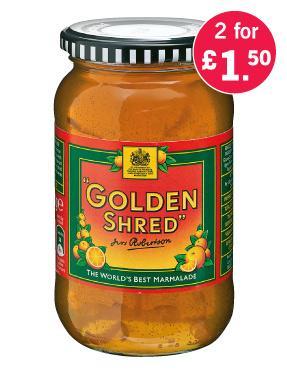 Robertson's Golden Marmalade 454g £1.50 for 2 jars @ Lidl