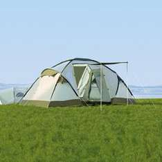 4 Person Family Dome Tent - Was £189 Now £43.94 (with code WFEST10) @ Bargain Crazy
