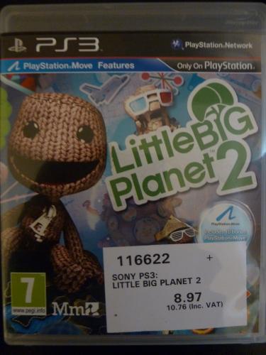 Little Big Planet 2 (PS3) - £10.76 including Vat @ Costco (Instore)