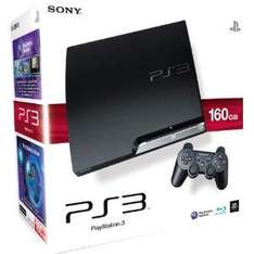 Sony PlayStation 3 Slim Console (160GB) - £199.99 @ Amazon + (Can choose selected Game or Headset for £15)