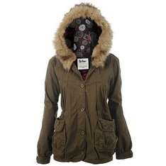 Lee Cooper Ladies Khaki Parka - £18.99 Delivered @ Sports Direct
