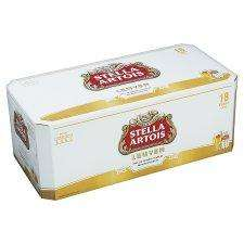 Stella Artois£12 for 18 cans @Tesco