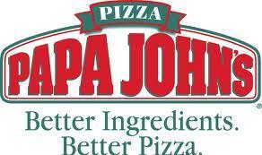 Any XL pizza £7.99 / XXL pizza £9.99 at Papa John's