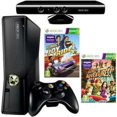 Xbox 360 Console: 4GB  + Kinect +  Kinect Adventures + Kinect Joyride - £199.99 (with instore voucher) @ Toys R Us (This Weekend)