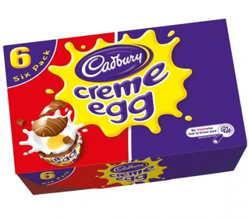Cadburys Creme Eggs box of 6  £1 @ Farmfoods
