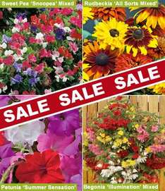 Thompson and morgan end of season plant sale - last chance to order!