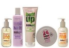 £8 For £20 To Spend on Naked, 97% Natural Body Care, Hair Care and Skin Care at www.nakedbodycare.com @ Groupon
