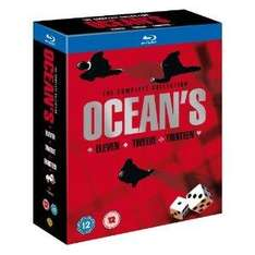 Ocean's Trilogy (Region Free) (Blu-ray) - Only £13.49 Delivered @ Amazon
