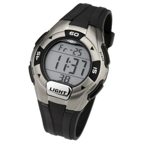Umbro Gents U571B Digital Watch with Black Strap - £6 @ Amazon