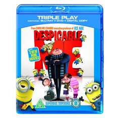 Despicable Me - Triple Play (Blu-ray + DVD + Digital Copy) - £9.99 Delivered @ Amazon