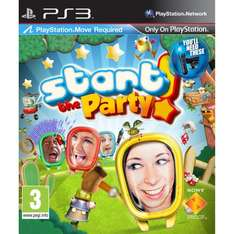 Start The Party! (Move Compatible) (PS3) - £11.99 Delivered @ Amazon
