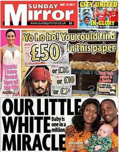 Sunday newspaper offers - see post - Mirror/ NOTW/ Telegraph/ Mail/ Express