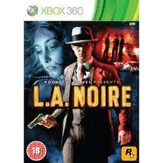 L.A Noire (Xbox 360) (PS3) (Pre-order) - £33.75 delivered (with code) @ Tesco Entertainment (+ Quidco/TCB)