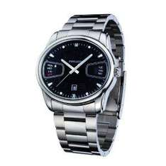 Police 'Pursuit' Gents Stainless Steel Bracelet Watch With Black Dial - £65.34 @ Amazon