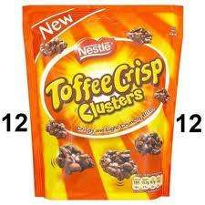 Nestle Toffee Crisp Cluster Grab Bafs only 97p at the Co-op