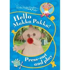 90% Off In The Night Garden Hello Makka Pakka! Press Out & Play Activity Book - RRP £3.99 - Only 39p @ Home Bargains