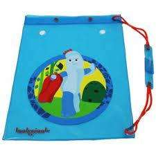 P.E/Swim Drawstring Bags inc In The Night Garden & Cars - Only 99p @ Home Bargains