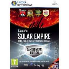 Sins of A Solar Empire: GOTY (Game Of The Year) Edition (PC) - £3.69 delivered @ Price Minister / Gzoop
