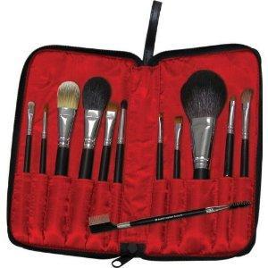 Silk Pro 12-Piece Professional Travel Cosmetic Brush Set (RRP £99) - £27.90 @ Amazon