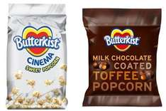 butterkist chocolate coated toffee popcorn 29p @ home bargains