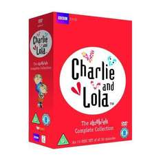 Charlie And Lola: The Absolutely Complete Collection (DVD) (11 Disc) - £12.97 Delivered @ Amazon UK