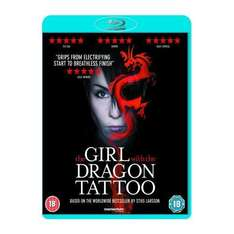 The Girl With The Dragon Tattoo (Blu-ray) - £7.99 Delivered @ HMV & Amazon