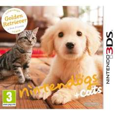 Nintendogs + Cats (3DS) - All 3 Versions - £17.85 @ The Hut