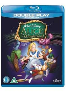 Alice In Wonderland: Special Edition (Blu-ray + DVD) - £9.99 Delivered @ Sainsburys Entertainment