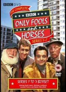 Only Fools and Horses: Complete Series 1 - 7 Box Set (DVD) (9 Disc) - £19.99 Delivered (using code) @ Sainsburys Entertainment
