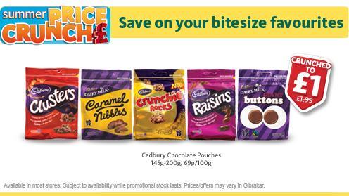 Cadbury Chocolate Pouches £1 @ Morrisons